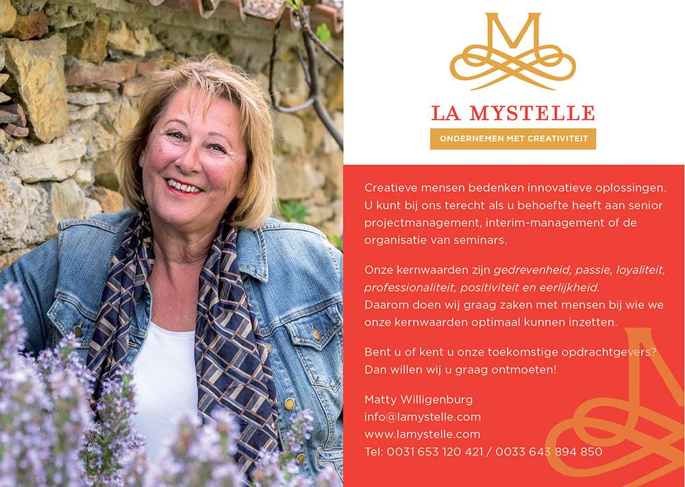 La Mystelle ondernemen met creativiteit